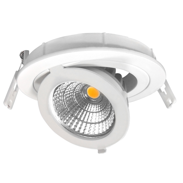 Downlight LED -ORIENTABLE- 12cm Redondo 12W