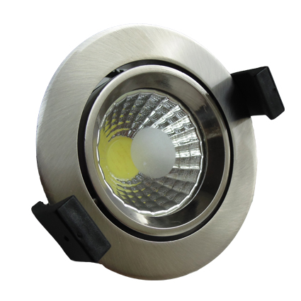 Downlight LED -ORIENTABLE- 10cm Redondo 8W