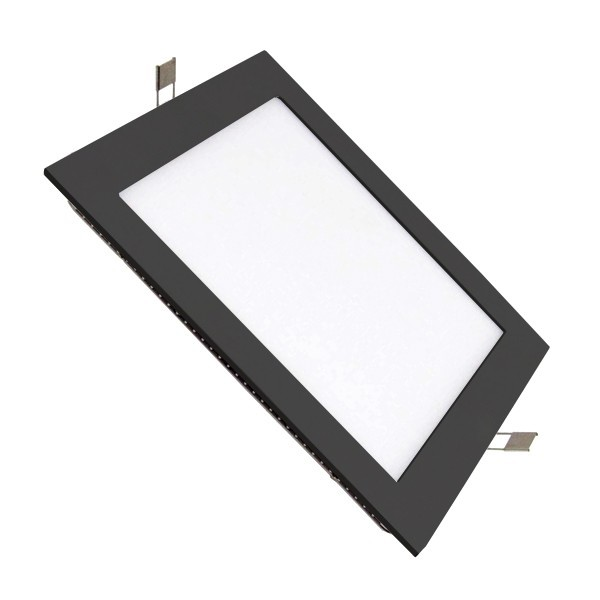 Downlight LED SuperSlim Cuadrado 17cm 12W Diseño