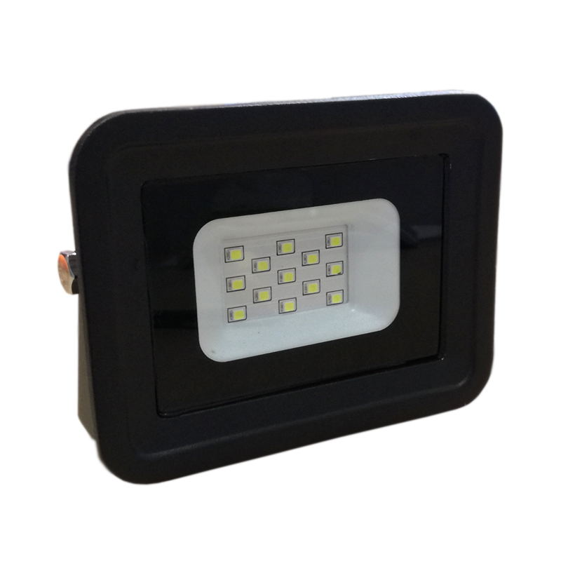 Foco Proyector LED SMD 10W Negro